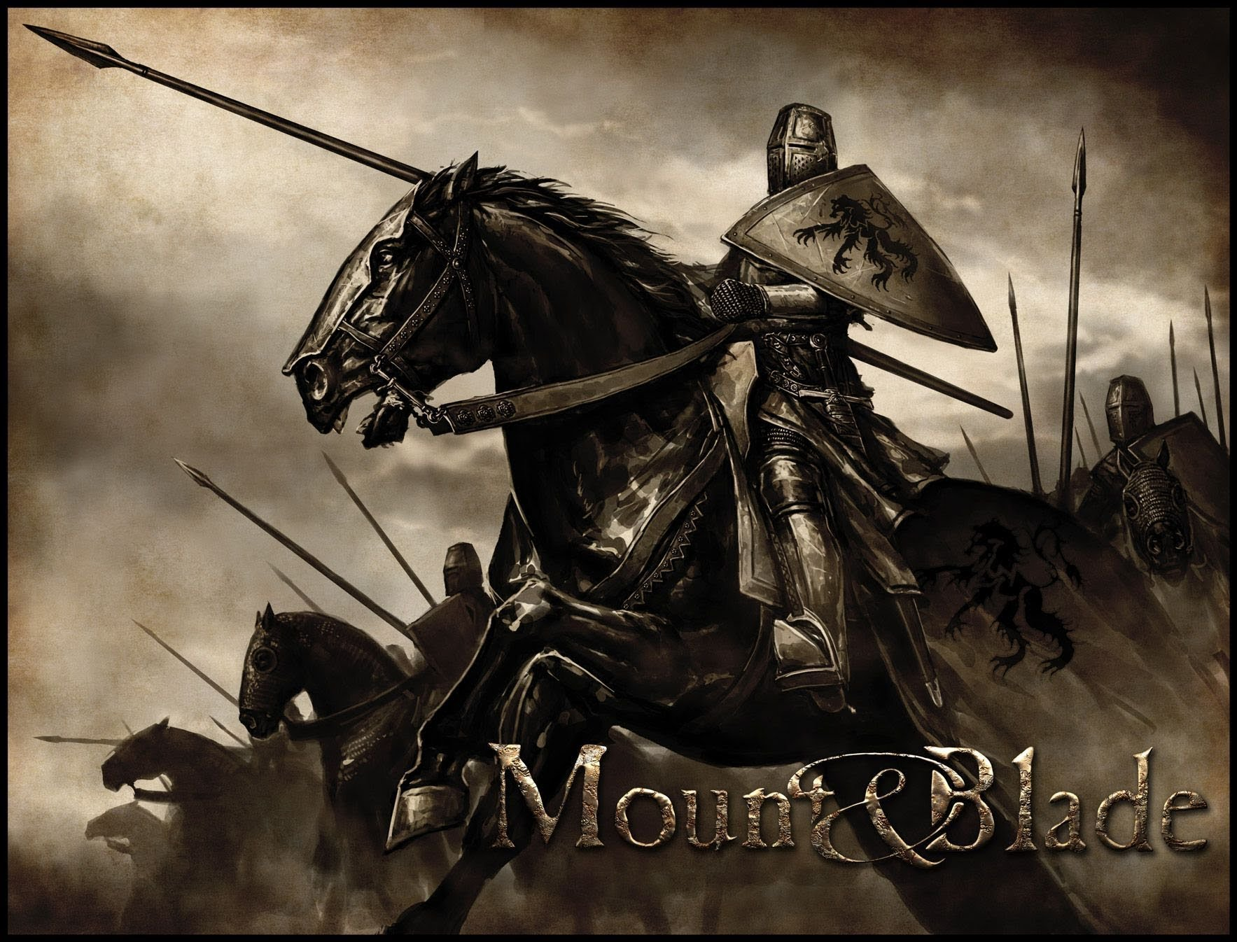 MOUNT AND BLADE fantasy warrior armor horse poster f wallpaper 1767x1346