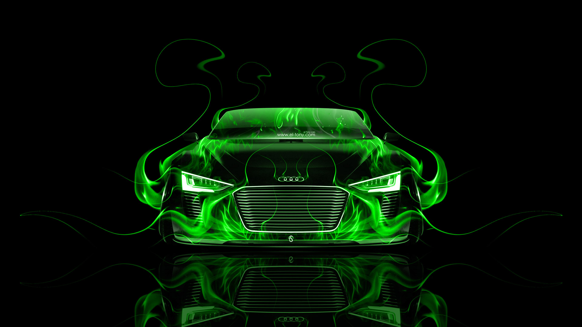 TRON LEGACY Light Car Wallpapers