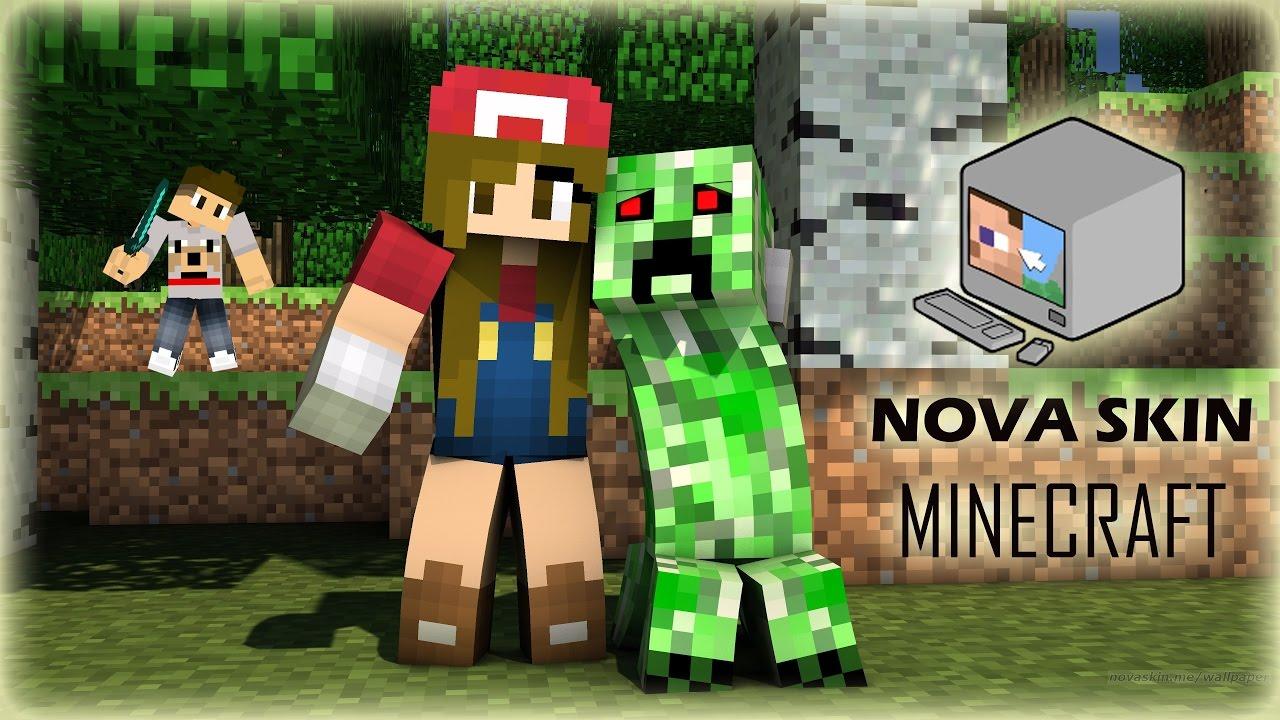 Free Download Nova Skin Editor Como Criar Skin Do Minecraft