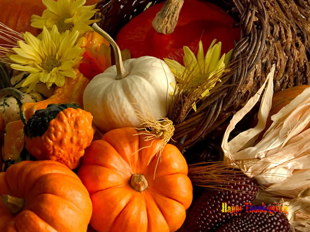 Thanksgiving Desktop Wallpaper and Screensavers 1 1024x768