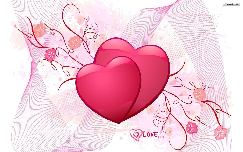 YouWall   Love Hearts Wallpaper   wallpaperwallpapersfree wallpaper 1440x900