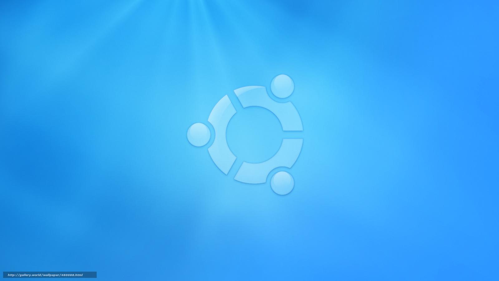 blue ubuntu wallpapers linux system wallpaper operating 1600x900