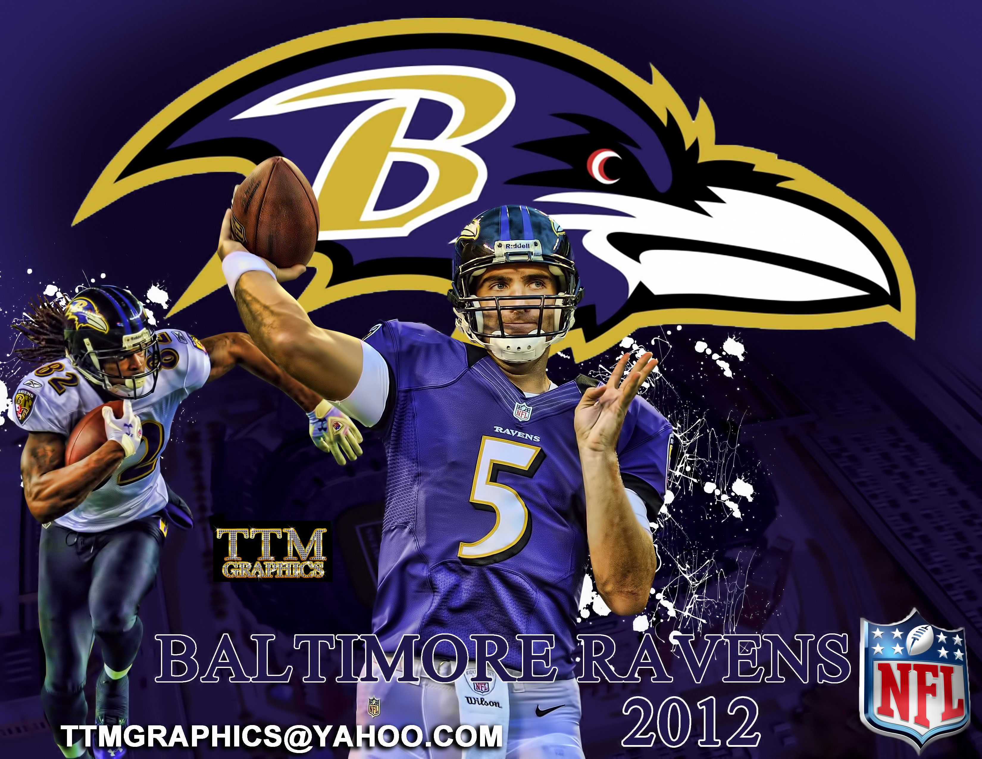 Baltimore Ravens desktop wallpaper Baltimore Ravens wallpapers 3300x2550