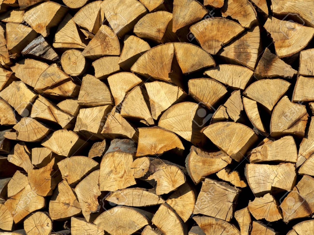 Firewood Background Yellow Stock Photo Picture And Royalty 1300x975