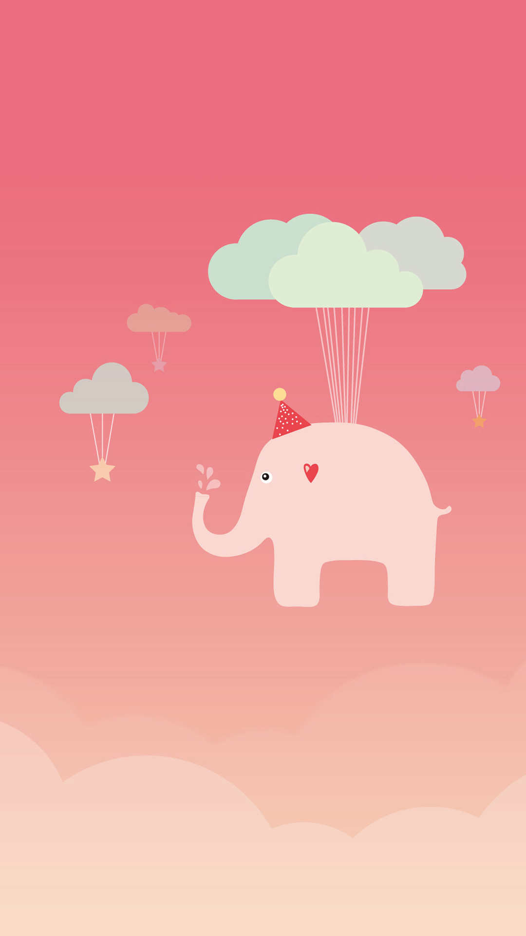 Cute Elephant iPhone 6 Wallpaper Download iPhone Wallpapers iPad 1080x1920