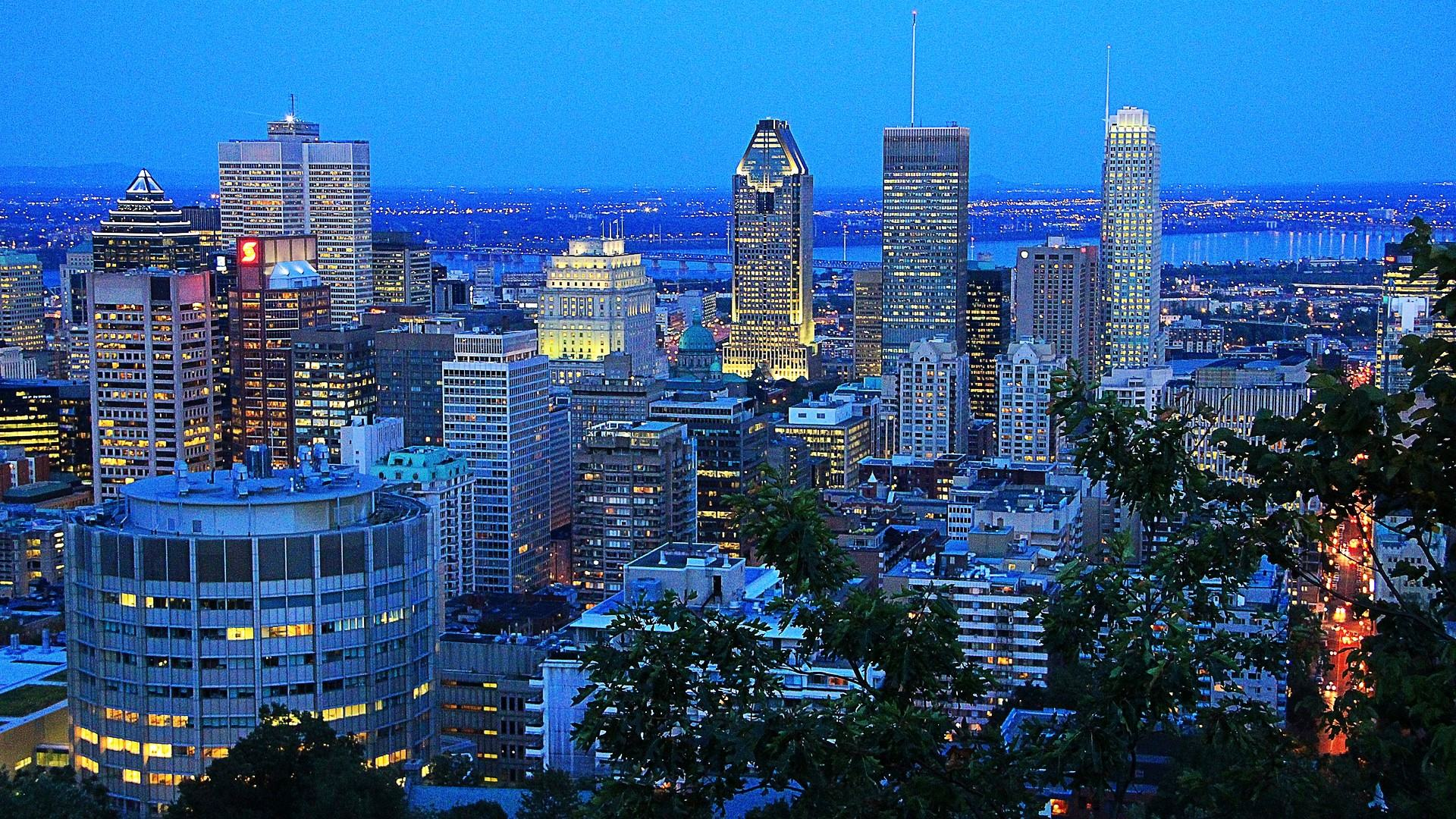 Download Wallpaper   Montreal Night Canada wallpapers 1920x1080