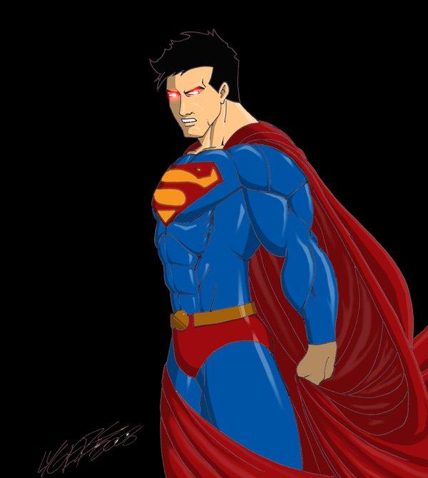 Superman Badass by EvanLygeros 600x670