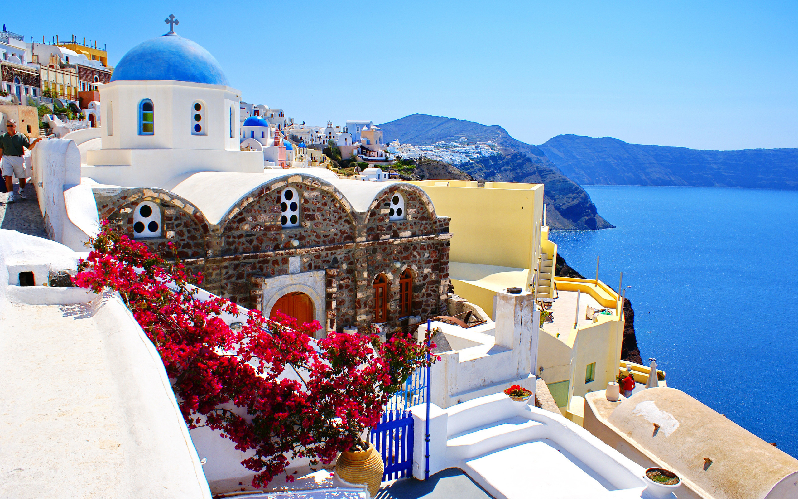63 Greece Widescreen Wallpapers on WallpaperPlay 2560x1600