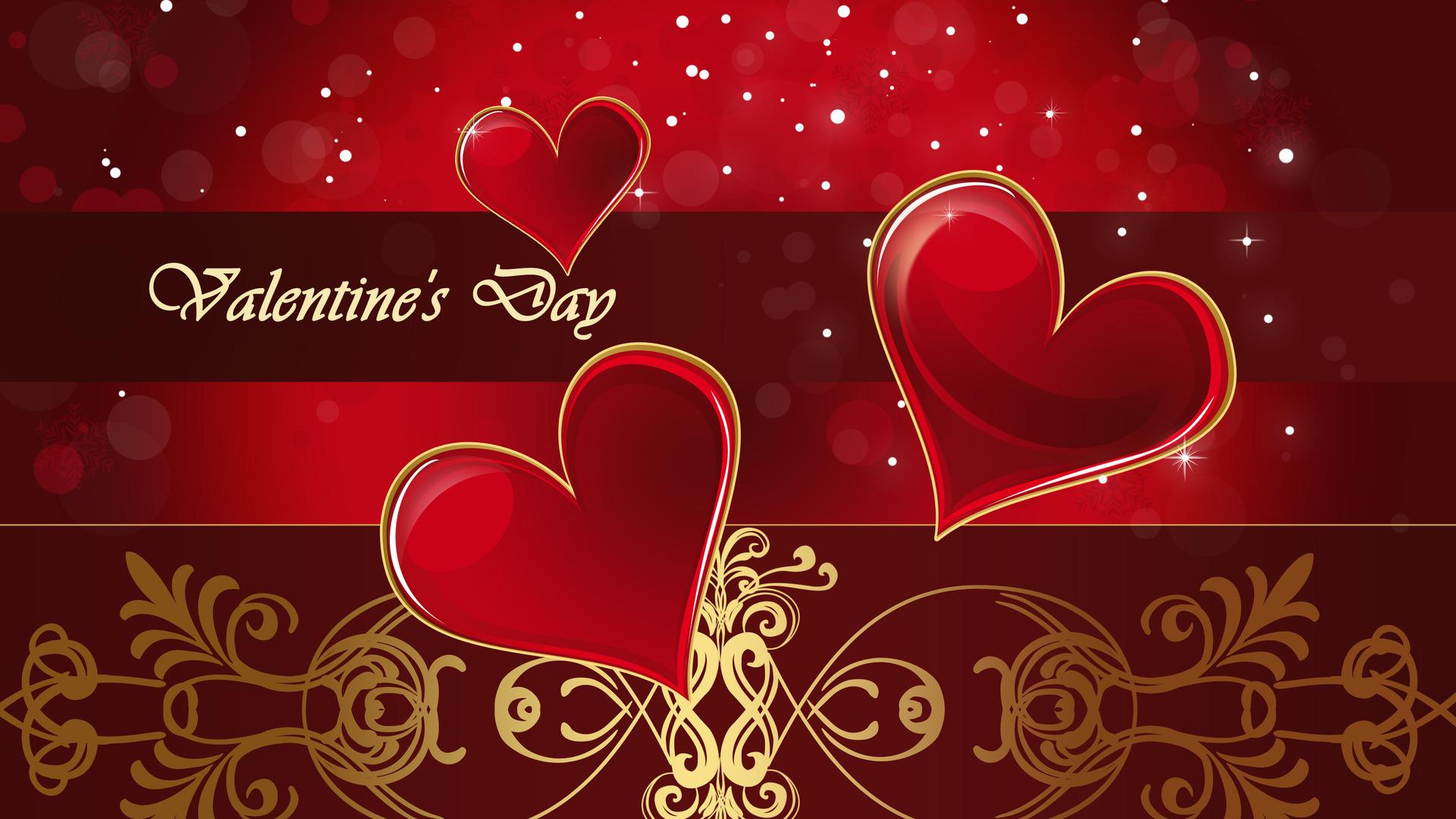 Valentines Day Hearts Exclusive HD Wallpapers 6154 1920x1080