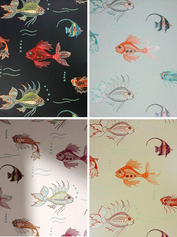 Osborne And Little Koi Wallpaper Wallpapersafari