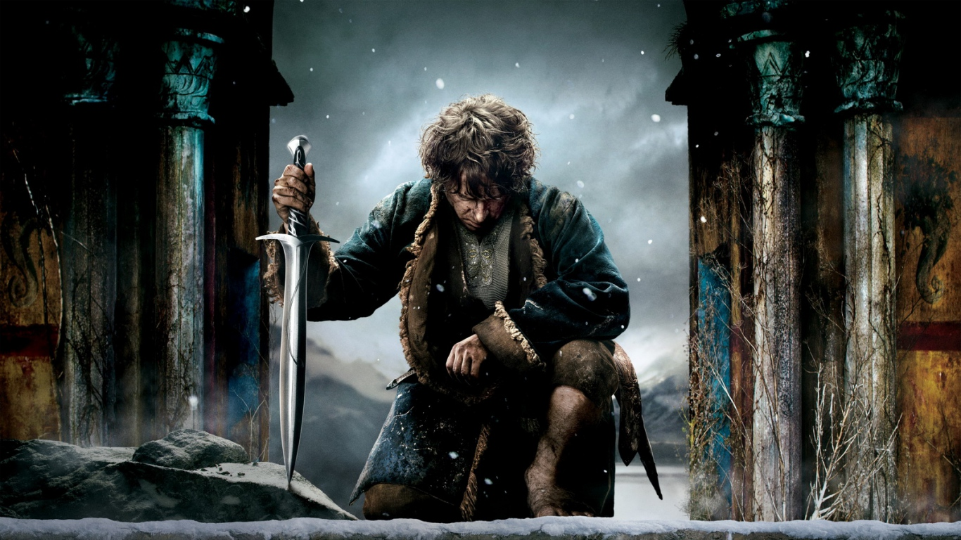 Download Wallpaper 1366x768 the hobbit the battle of the five armies 1366x768