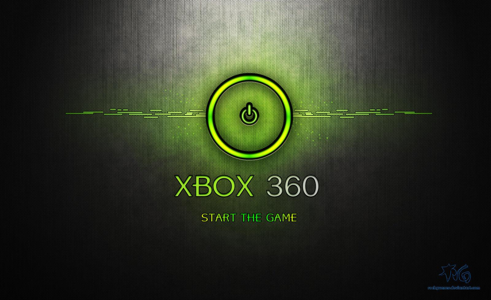 XBox 360 Wallpaper by ROCKGUNNER 1600x978