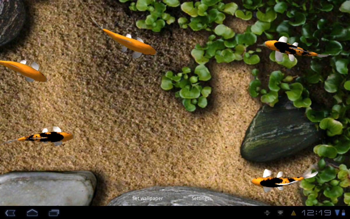 Android Wallpaper Review Koi Live Wallpaper Android Central 1200x750