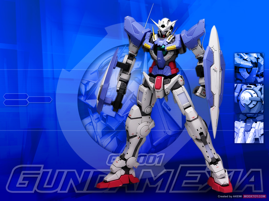 Gundam 00 Wallpapers Video Synopsis Story Model Kit Review 1024x768