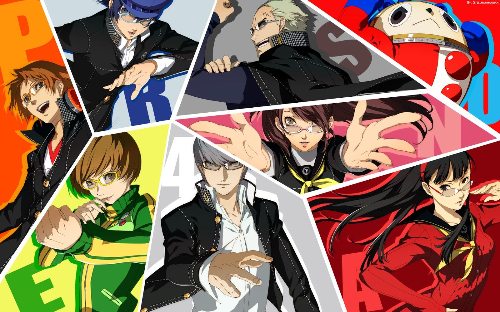 Free download Teddie Persona 4 Anime HD Wallpaper Desktop PC