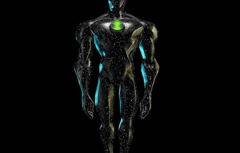 Wallpaper alien space beskonechnosti Hero X Ben 10 heavenly 1332x850