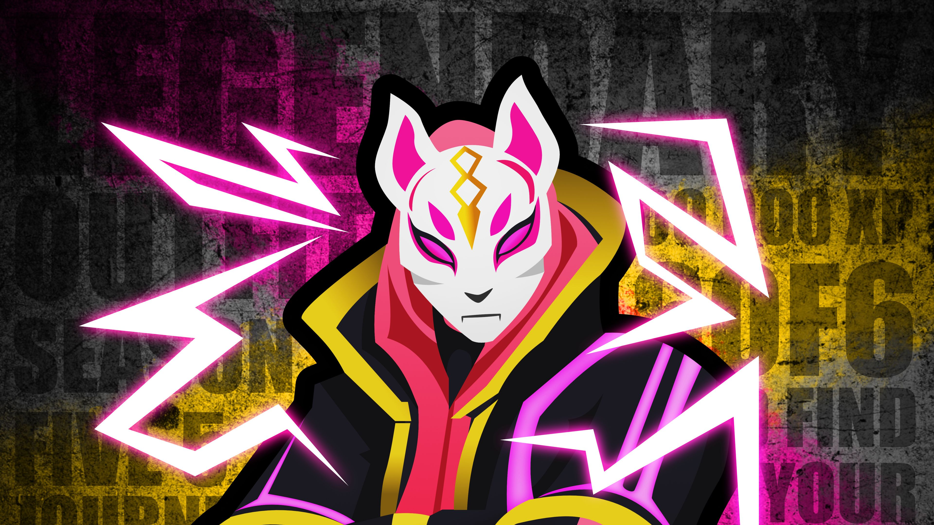 Fortnite Drift Poster 4k ps games wallpapers poster wallpapers 3840x2160