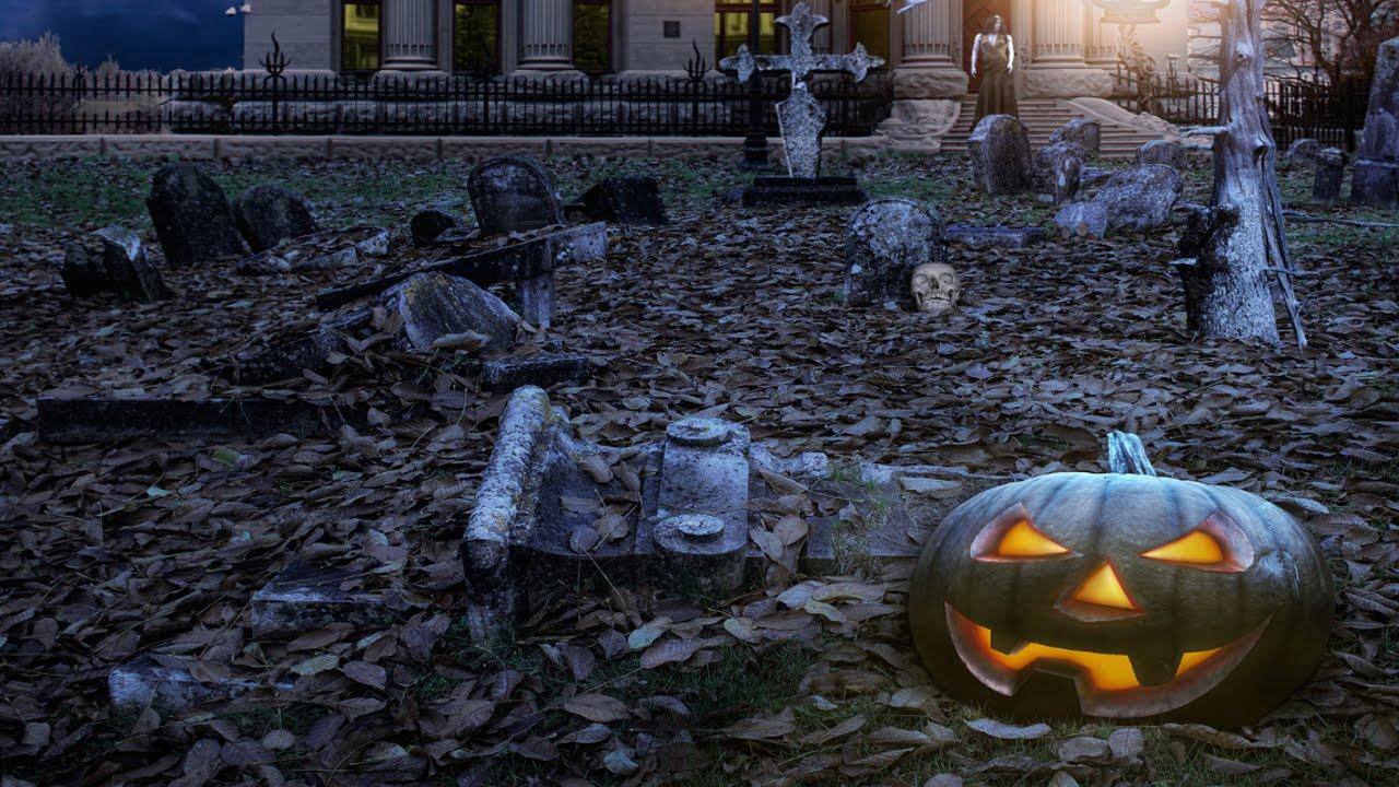 Halloween Background Music 1280x720