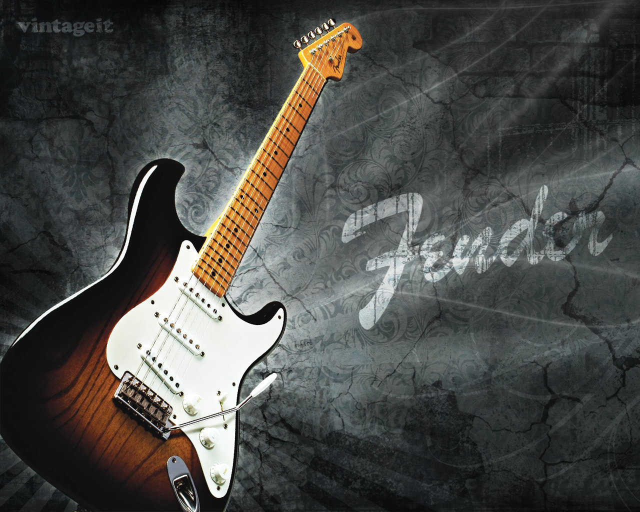 Fender Stratocaster wallpaper   Desktop HD iPad 1280x1024