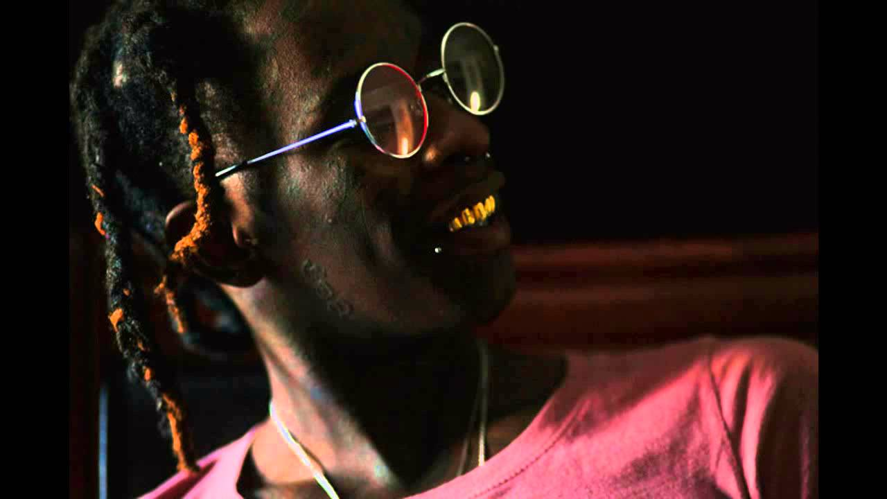 Young Thug Gold Teeth Rap Wallpapers 1280x720