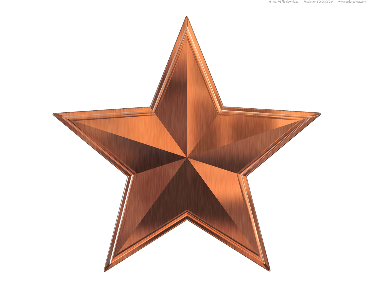 Metallic Bronze Wallpaper Bronze Metal Star 1280x1024