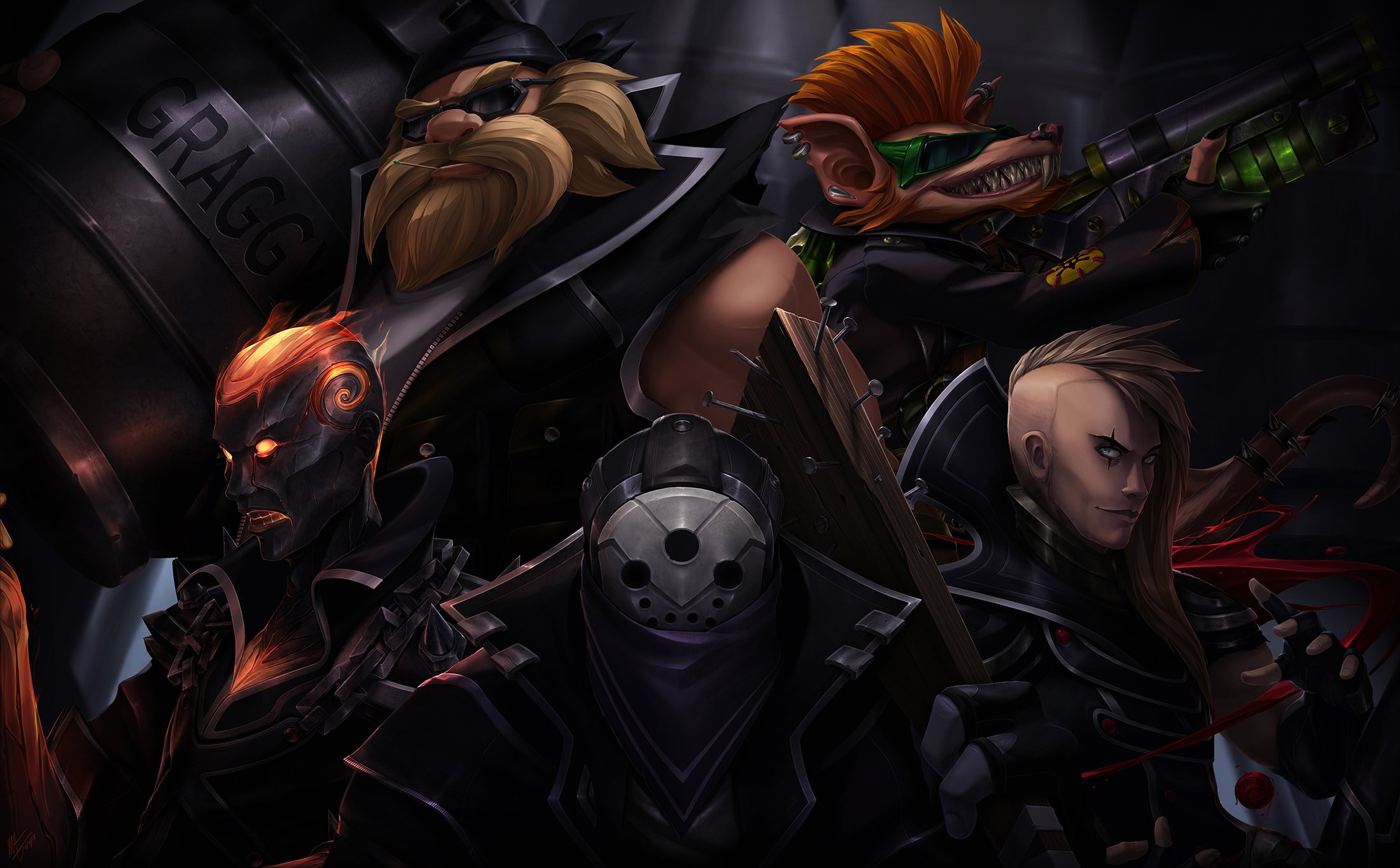 15 Gragas League Of Legends HD Wallpapers Background Images 2200x1365