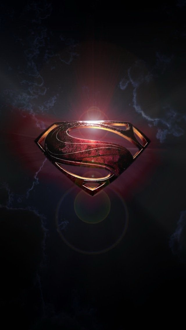 Superman logo iphone wallpaper hd wallpapersafari - Superhero iphone wallpaper hd ...