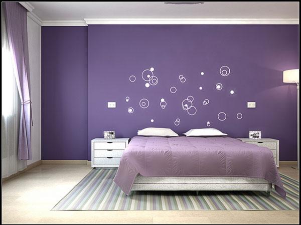 25 Impossible Purple Bedroom Ideas   SloDive 600x450