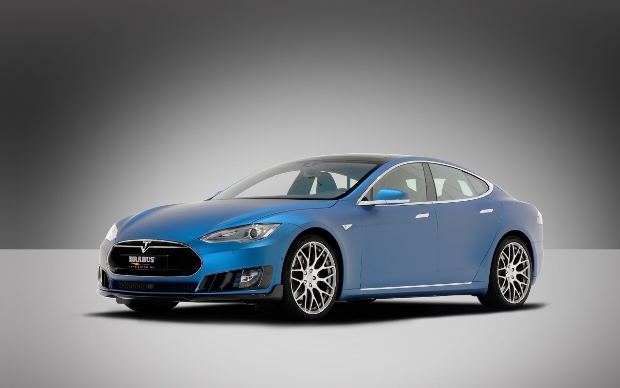 2015 Brabus Tesla Model S Wallpaper HD Car Wallpapers 1280x800