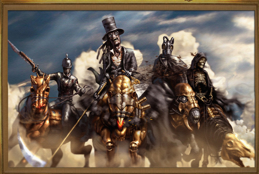 Gallery For 4 Horsemen Wallpaper 900x606