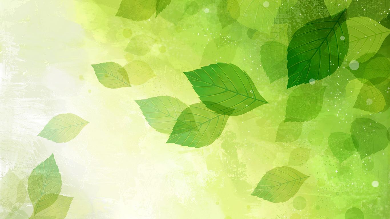 Falling leaves wallpaper 2121 1366x768
