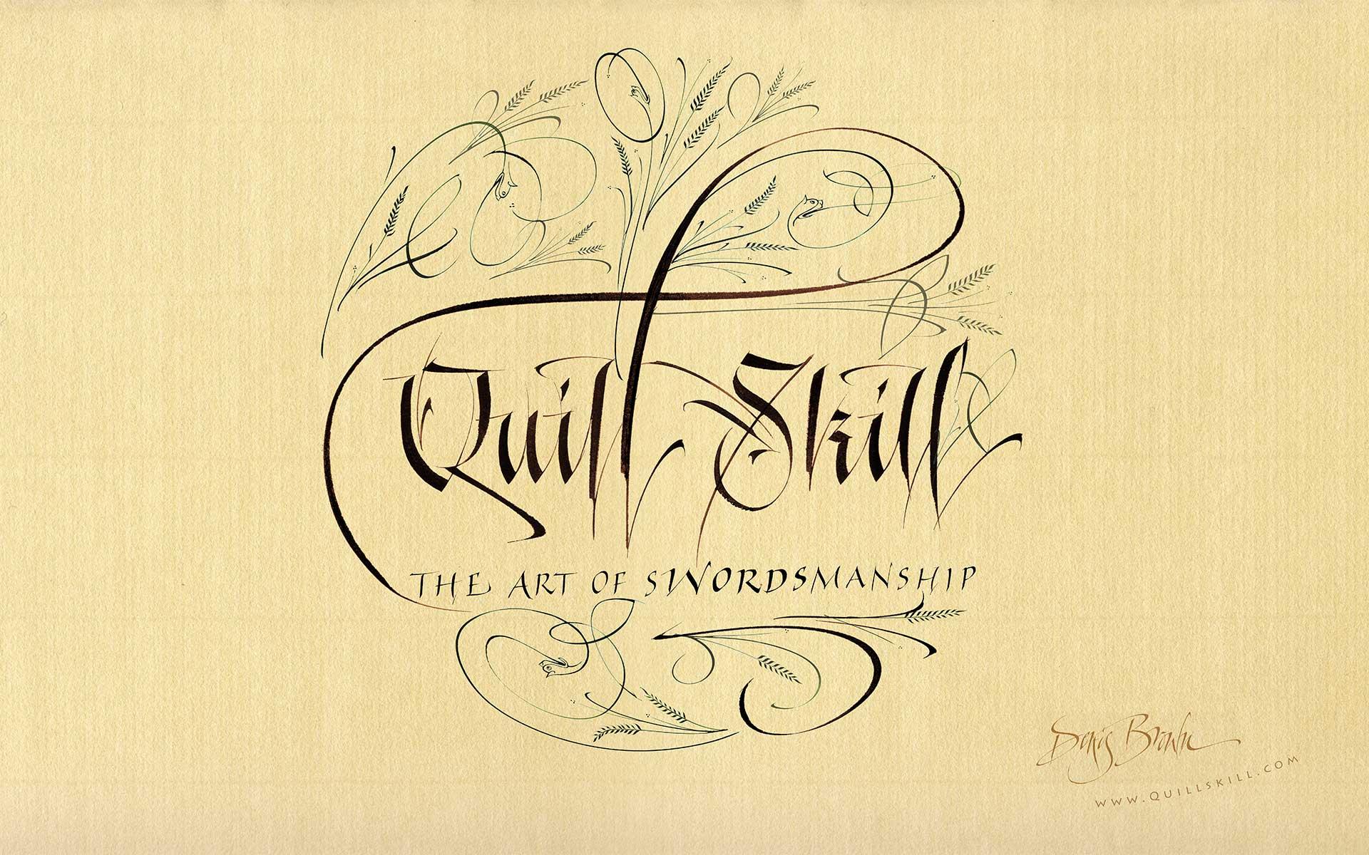 Calligraphy Wallpaper For Desktop  WallpaperSafari