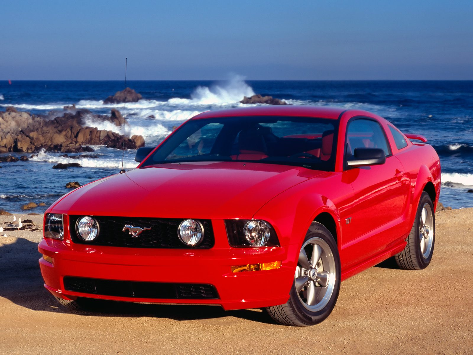 HQ 2005 Ford Mustang GT Coupe Wallpaper   HQ Wallpapers 1600x1200