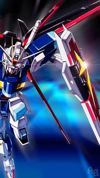 Gundam 010 Anime   iPhone Wallpaper 320x568
