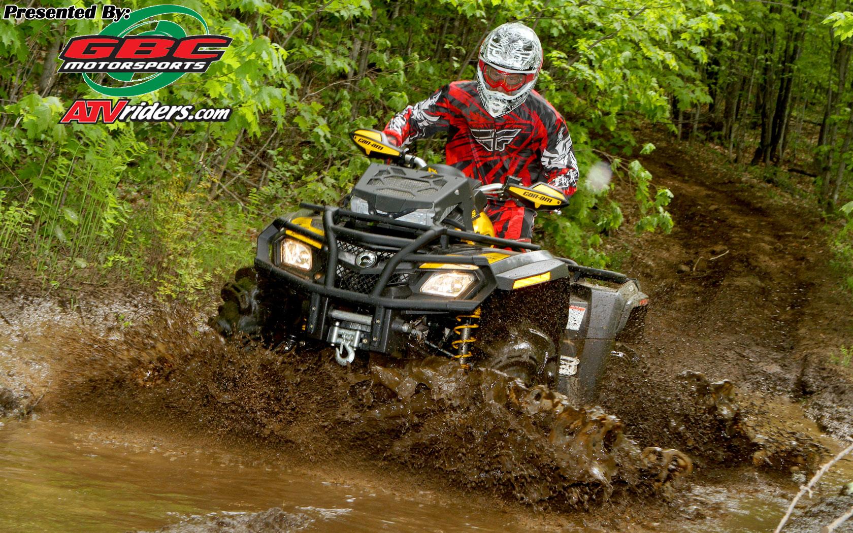 Atvs In Mud Mr mud performance 4x4 atv 1680x1050