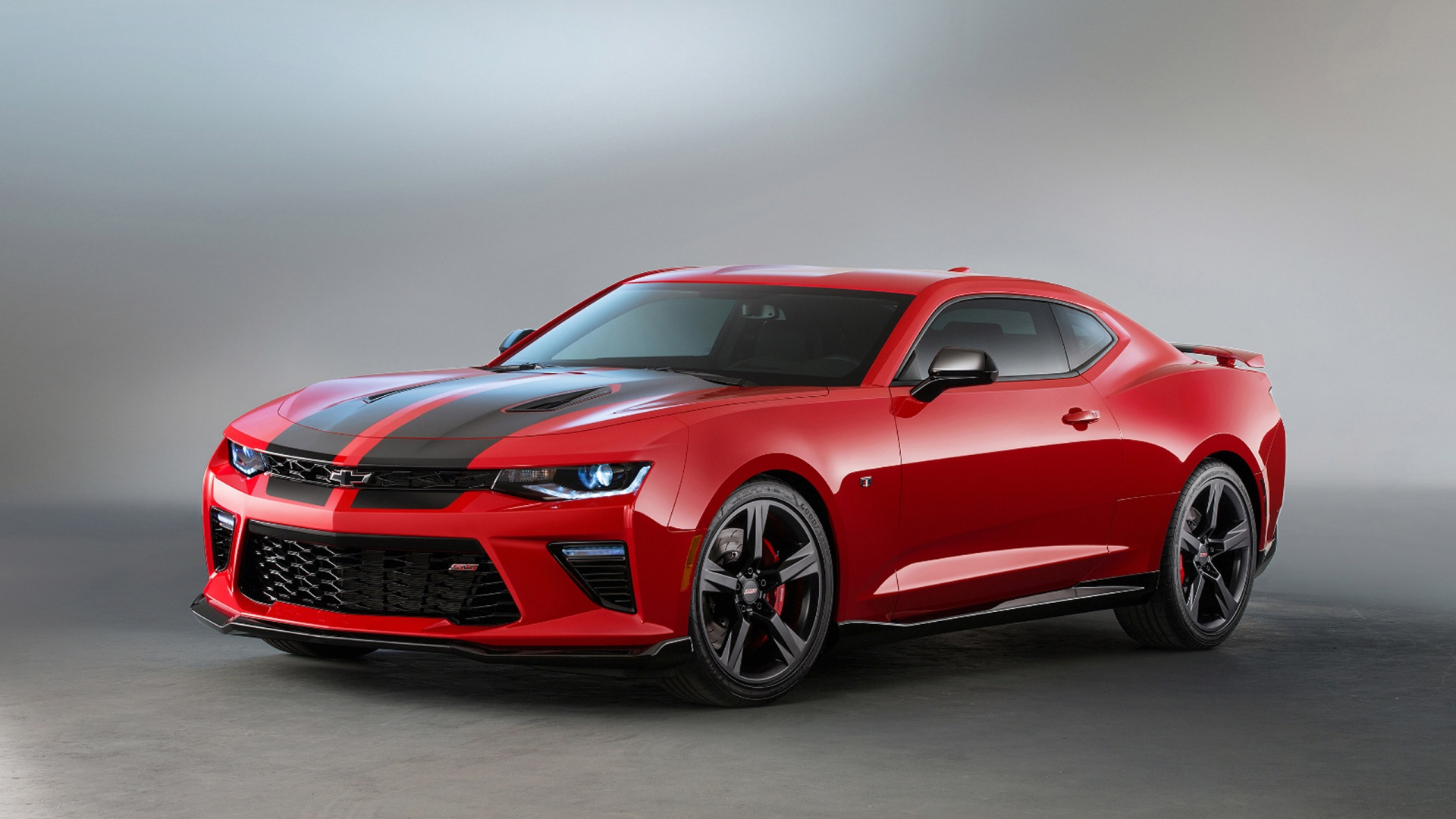 2016 Chevrolet Camaro SS Black Accent Package Wallpaper 1920x1080