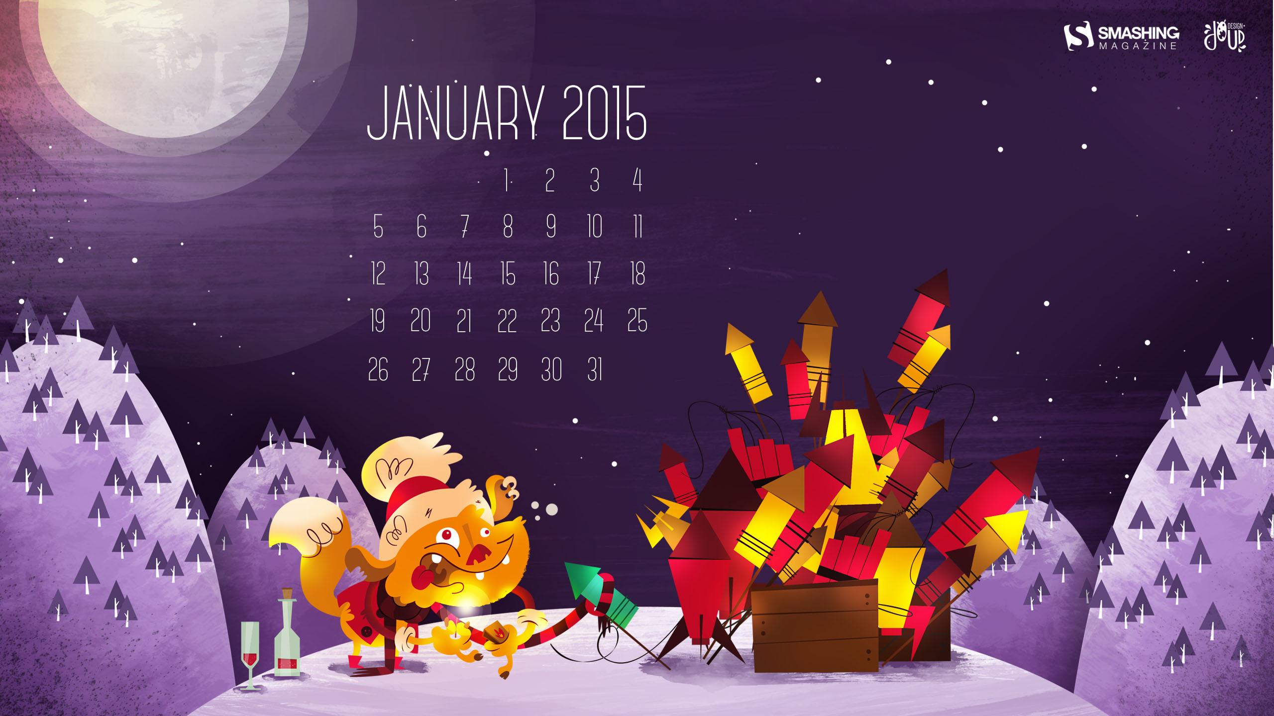 Desktop Wallpaper Calendars: January 2015 – Smashing Magazine