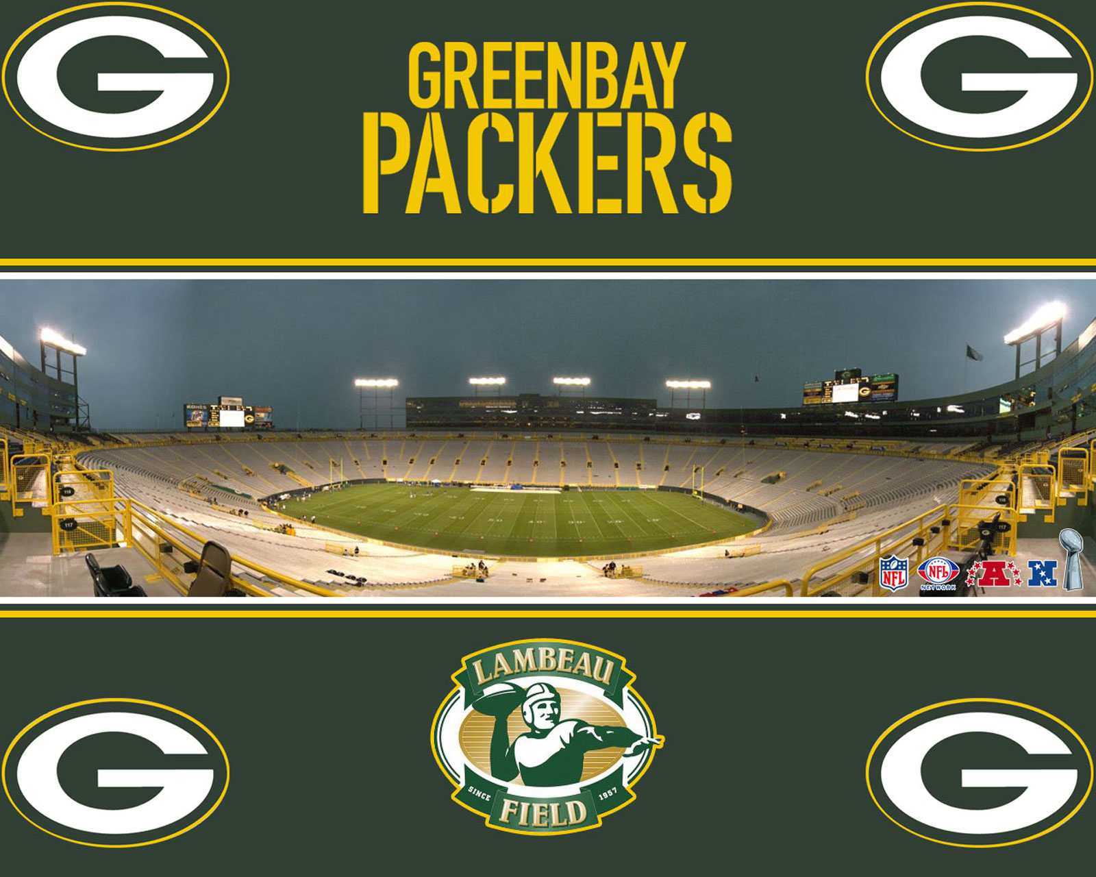 Green Bay Packers images Lambeau Field HD wallpaper and 1600x1280