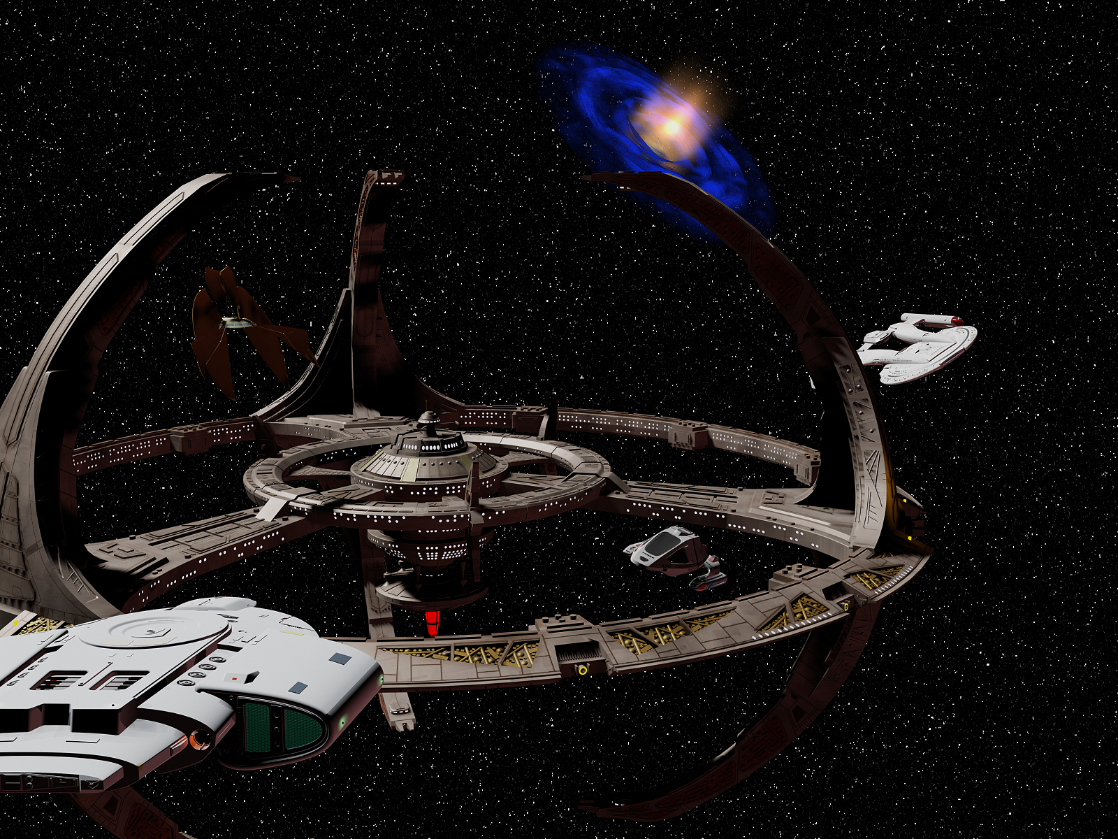 TV Show Star Trek Deep Space Nine Wallpaper 1600x1200