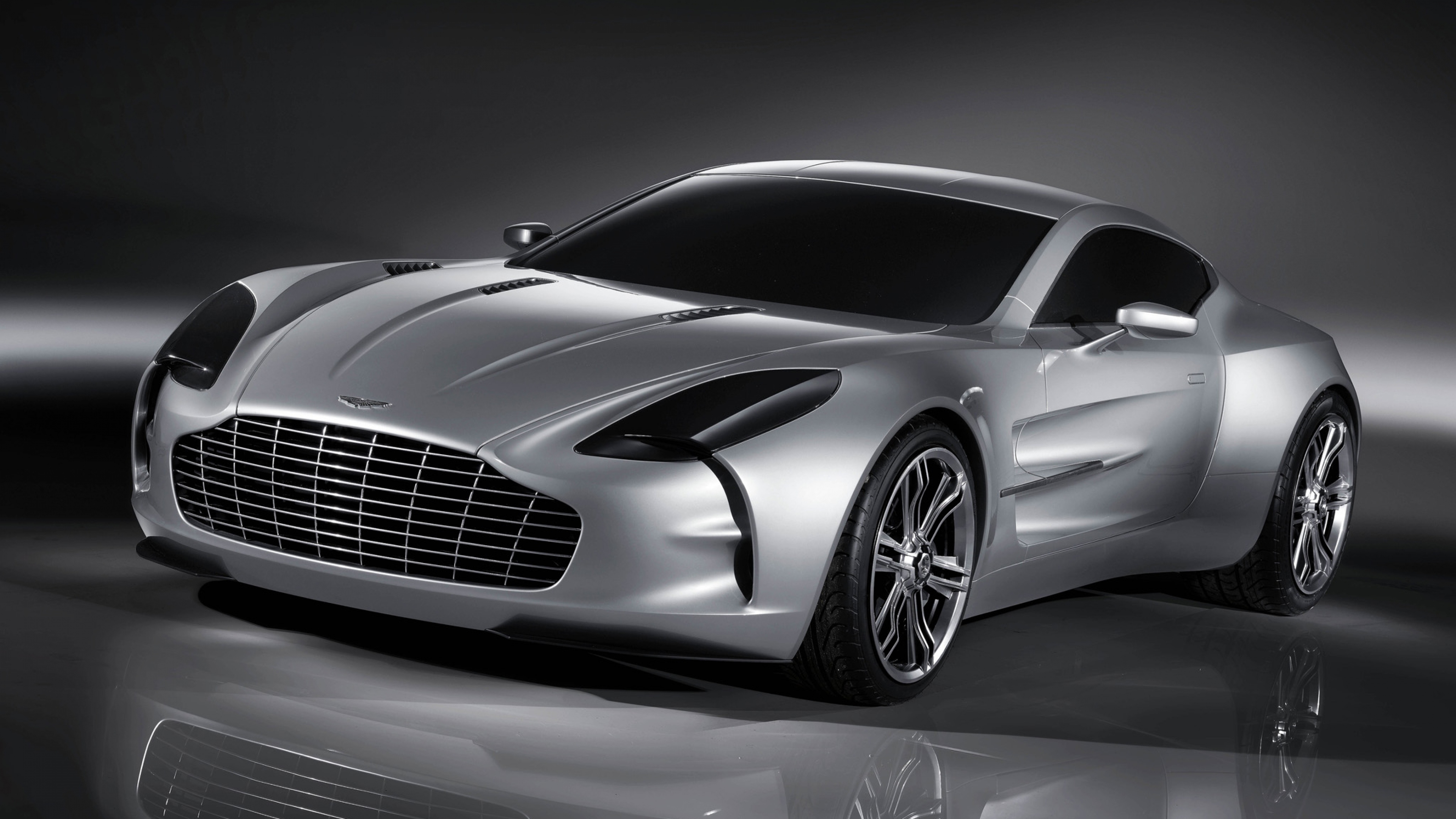Download Wallpaper 3840x2160 Aston martin One 77 2008 Concept car 3840x2160