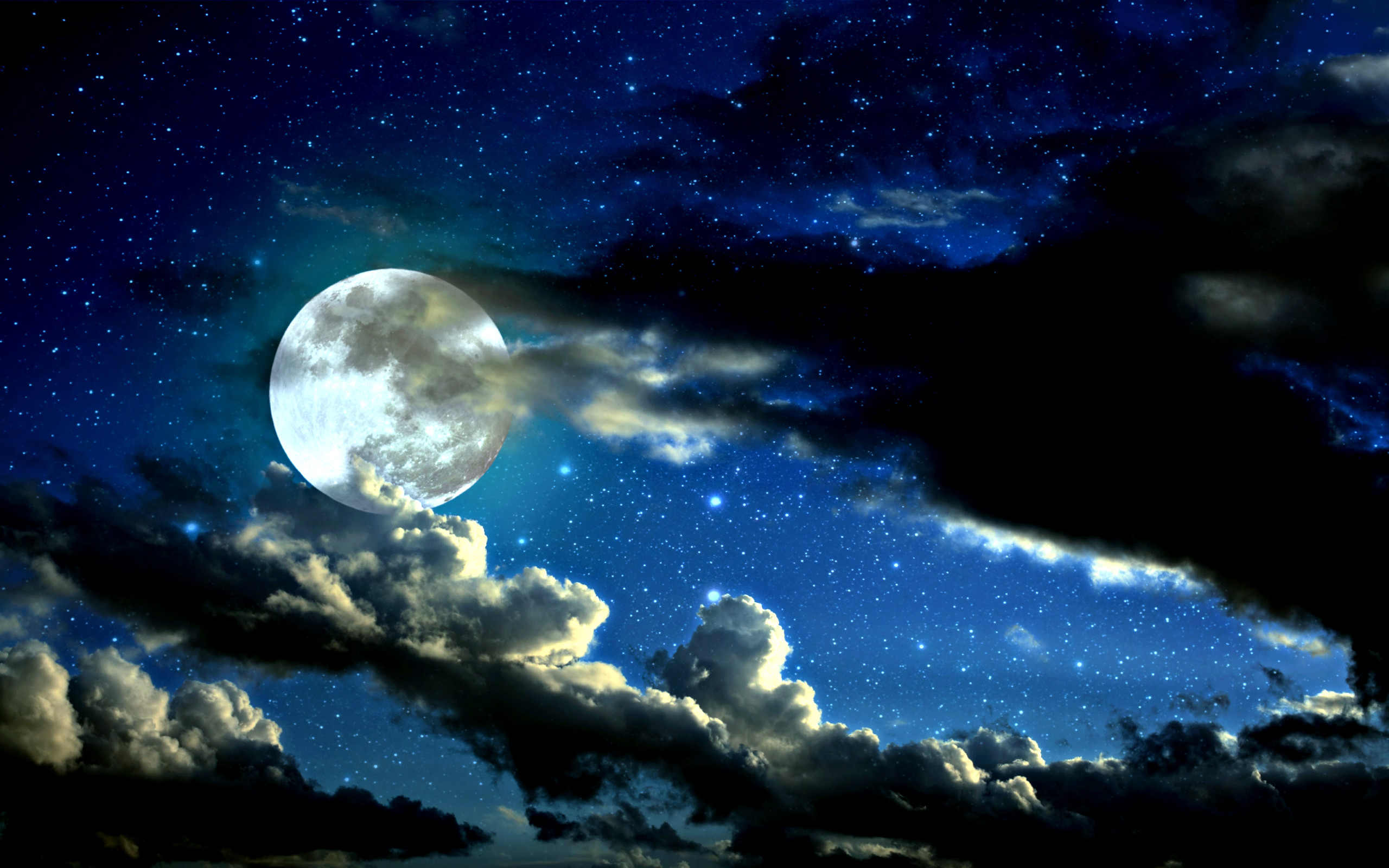 cool moon backgrounds 2560x1600