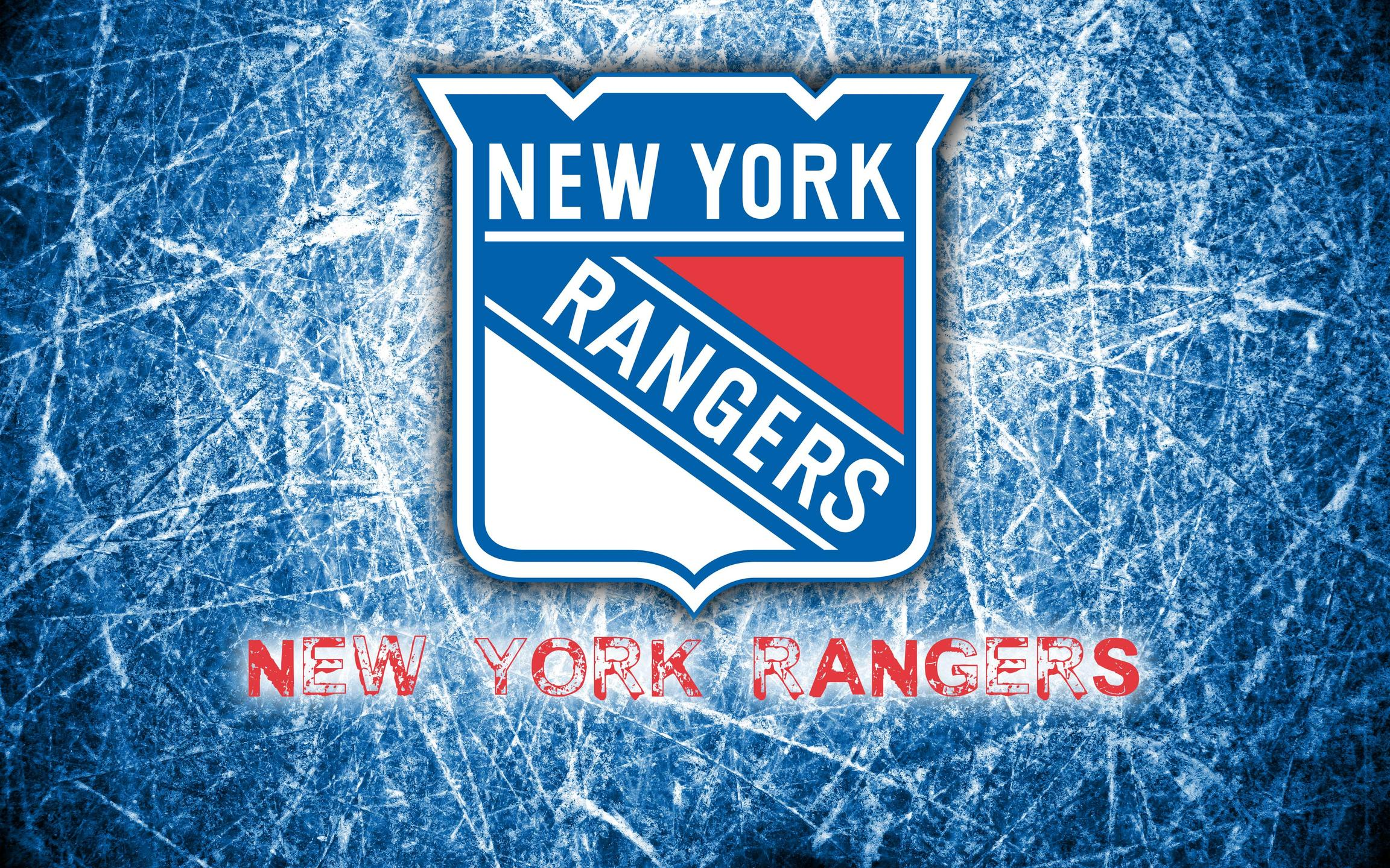 New York Rangers 2014 Logo Wallpaper Wide or HD Sports Wallpapers 2304x1440