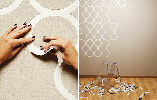 wallpaper to walls has never been so fun With this perforated tear 520x330