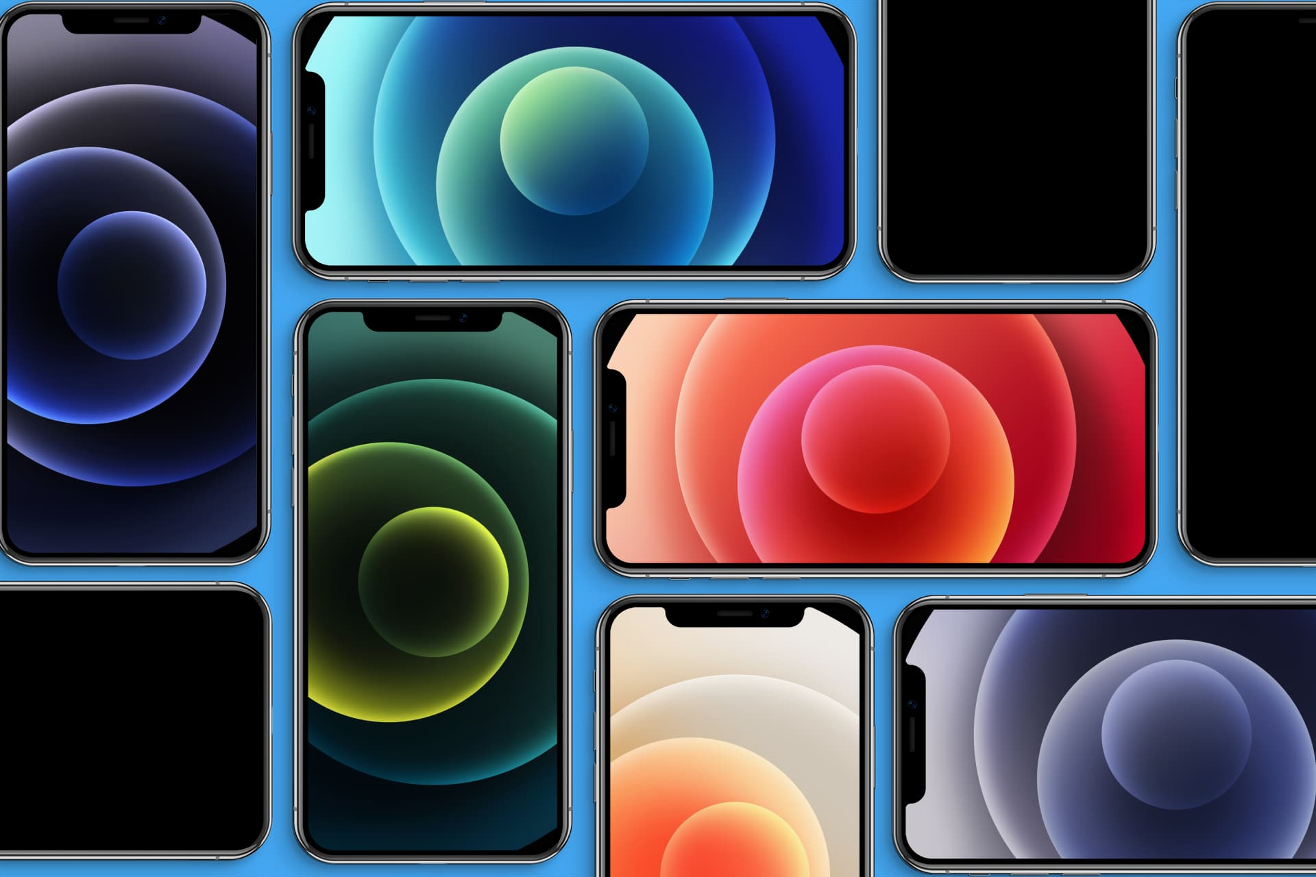 Download the iPhone 12 wallpapers here 1920x1280