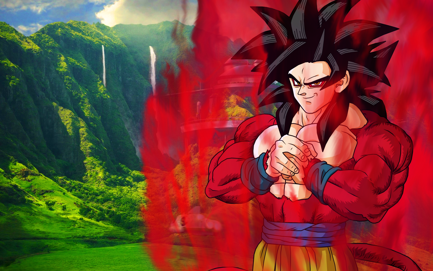 Goku Ssj4 Wallpapers   Viewing Gallery 1680x1050