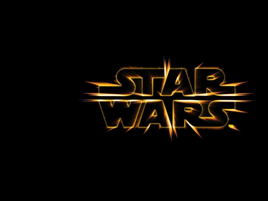 Star Wars Logo Wallpaper Star wars logo 1024x768