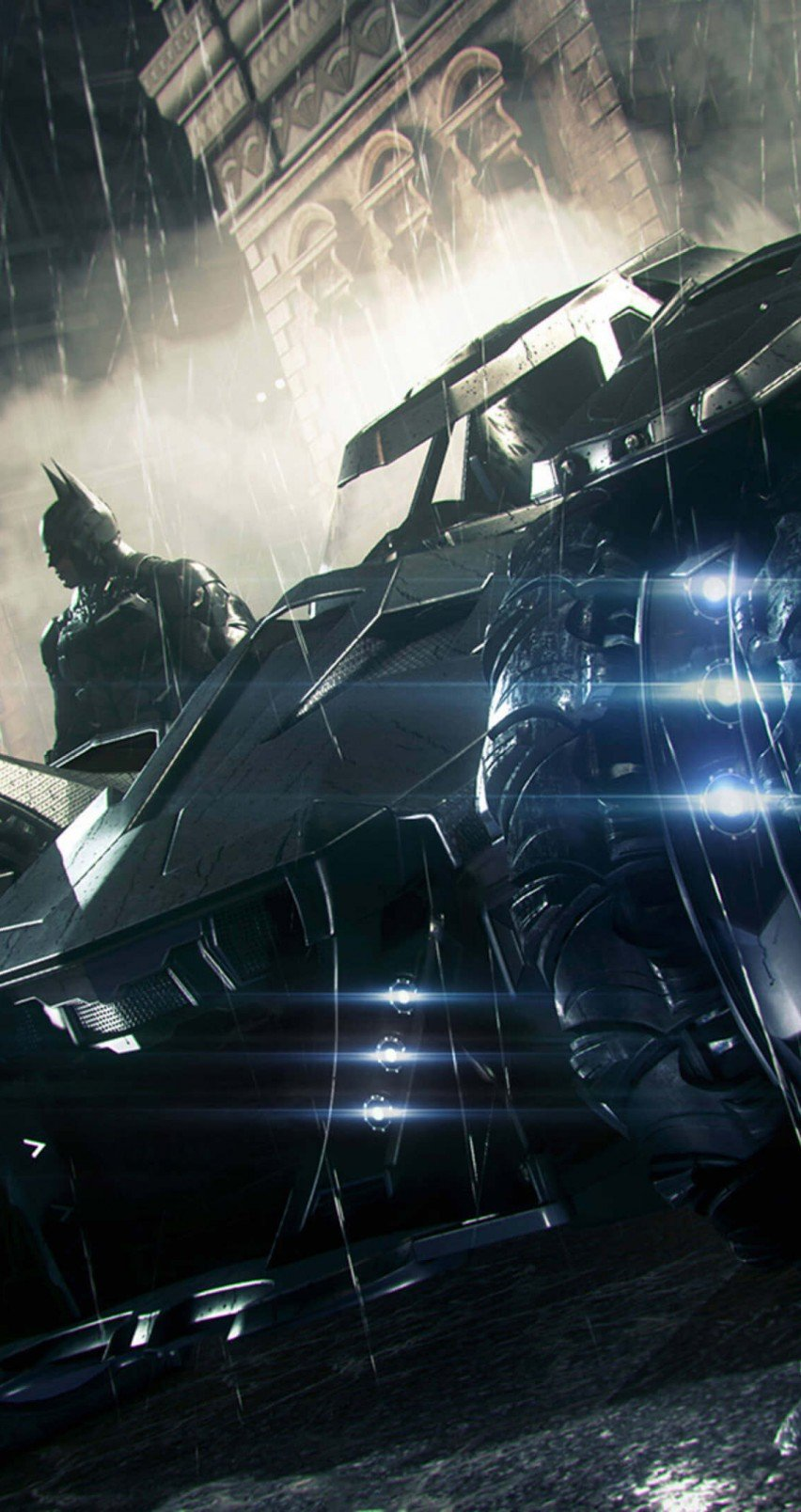 Batman Arkham Knight Batmobile Wallpaper - WallpaperSafari