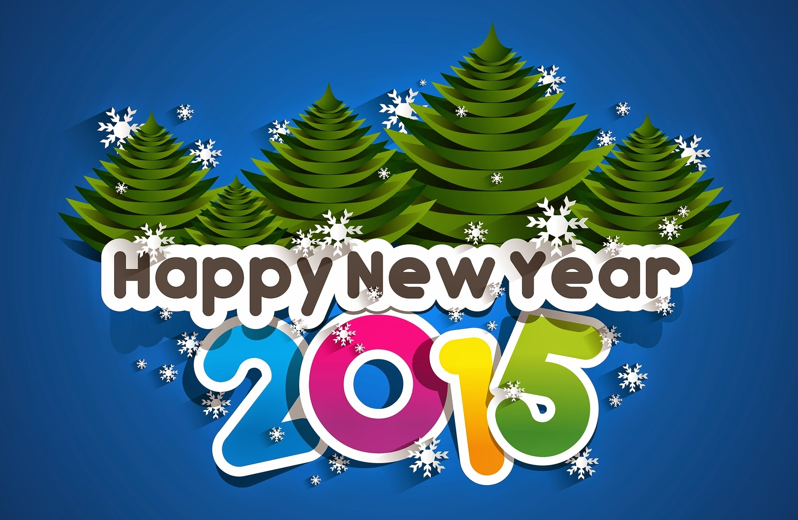 3D Lovely New Year 2015 Wallpapers For Facebook Timeline Cover 1600x1043