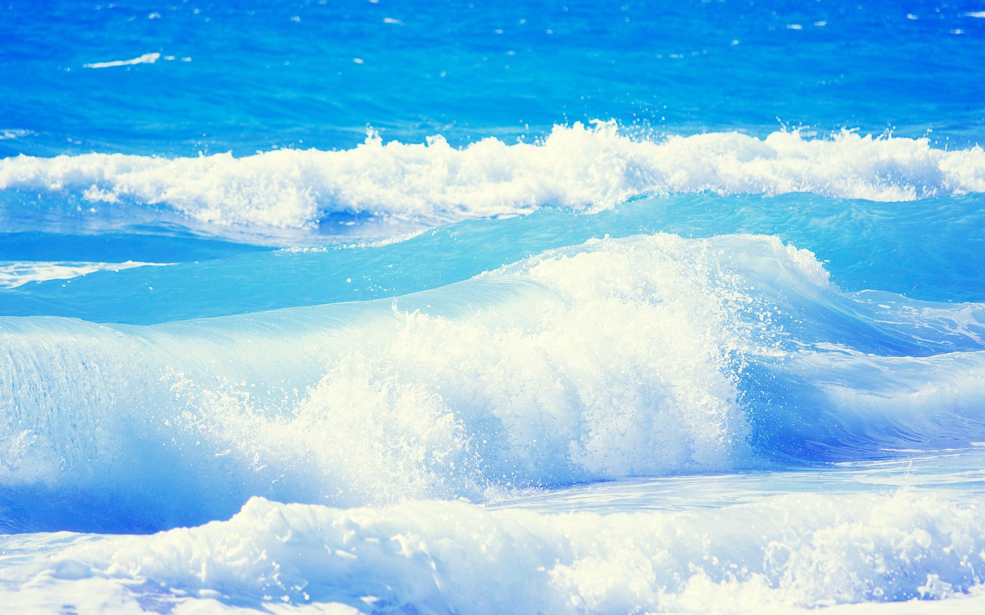 Blue Ocean Wallpaper 1920x1200
