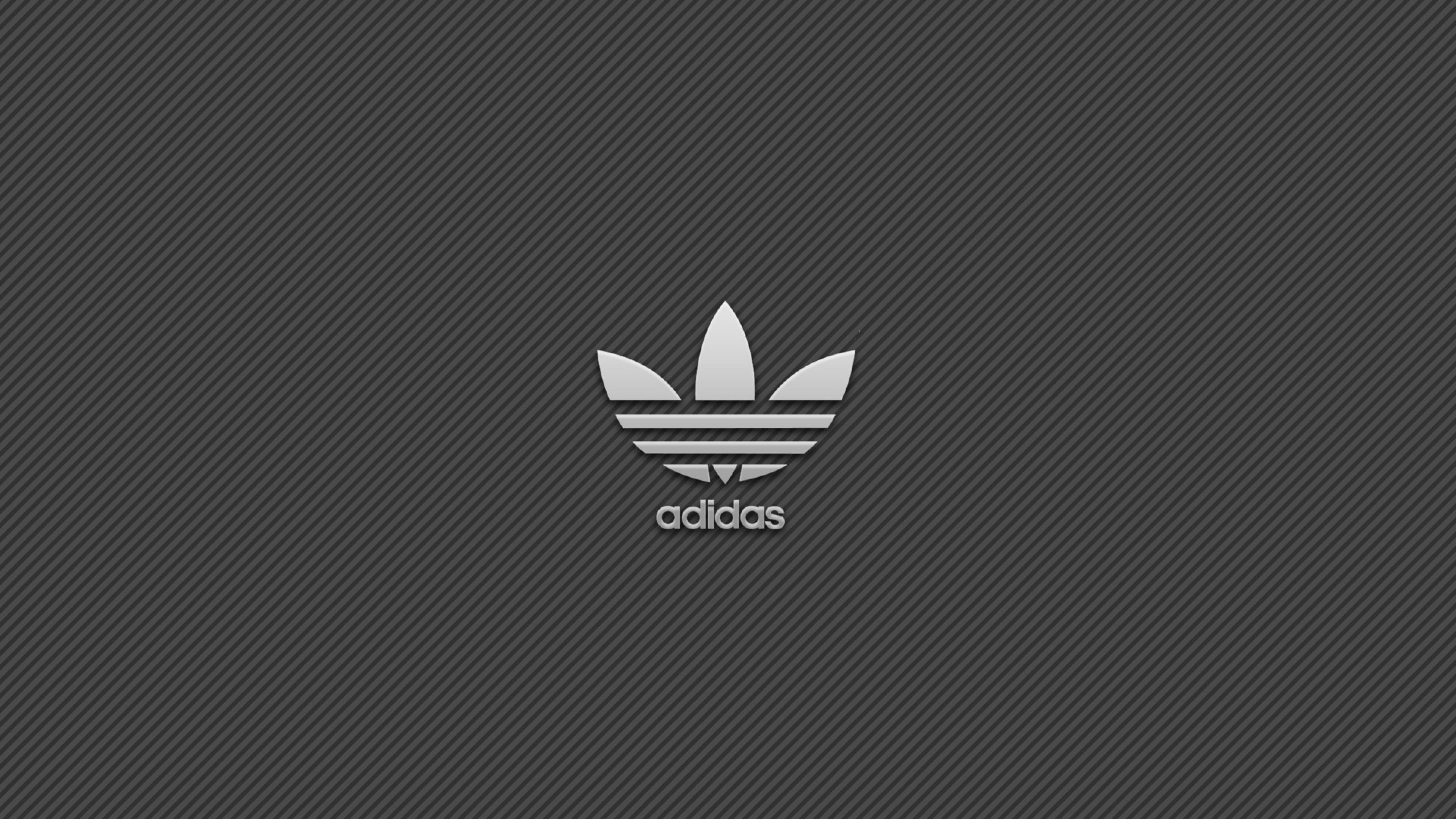 Download Wallpaper 3840x2160 Adidas Brand Logo 4K Ultra 3840x2160